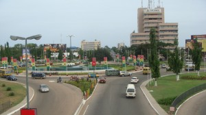 Rond point Kwame Nkrumah, Accra