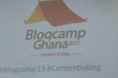 Article : Ghana :  Blogcamp 2013 : Les bloggueurs ghanéens sont allés au ''front''