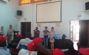 Séance d'ouverture du Mondoblog Dakar