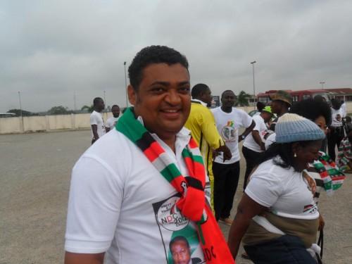 Jospeh Yammin, le vice-ministre ghanéen de la Jeunesse et des Sports