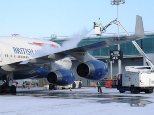 Un avion du British Airways