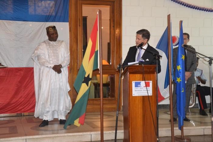 L'Ambassadeur de France (Crédit Ambassade de France)