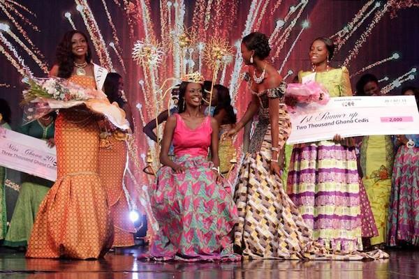 Guiseppina Baafi, l'élue ( Crédit Miss Ghana )