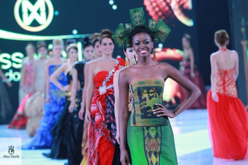 Naa Okailey, Miss Ghana, 2e dauphine Miss Monde 2013 (ph credit Miss World)