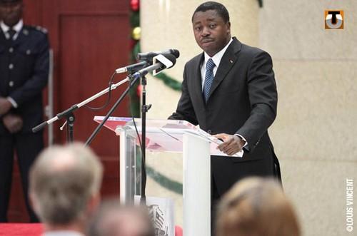 Faure Gnassingbé (ph) le Président  togolais, crédit republicoftogo