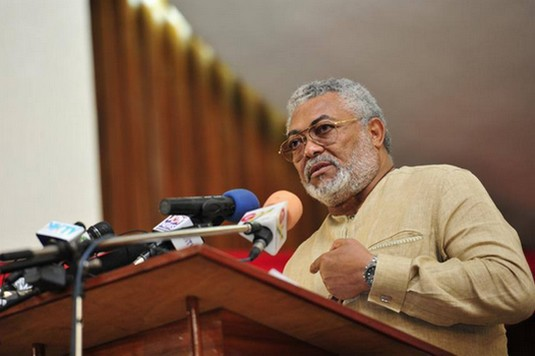 Jerry Rawlings ( ph credit The Life and Times of Jerry Rawlings )