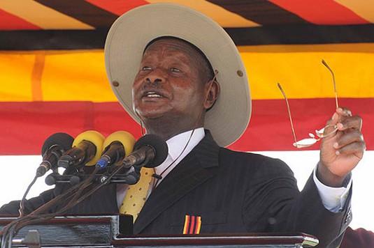 Yoweri Museveni (ph), le Président ougandais
