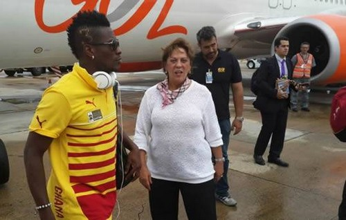 Asamoah Gyan (ph credit GFA)